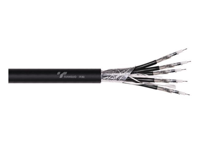 五芯同轴RGB电缆 RGB5 75-2