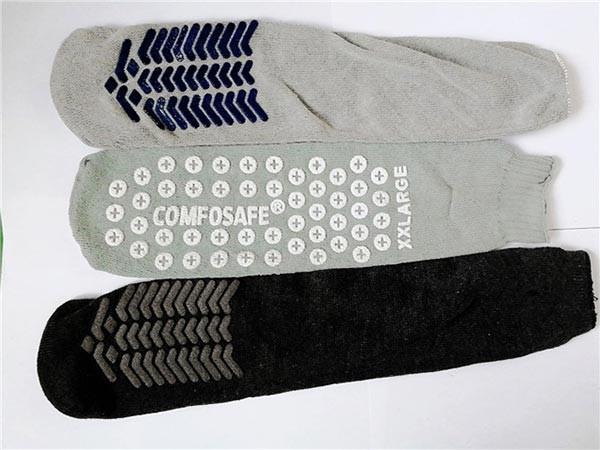 防滑点胶袜