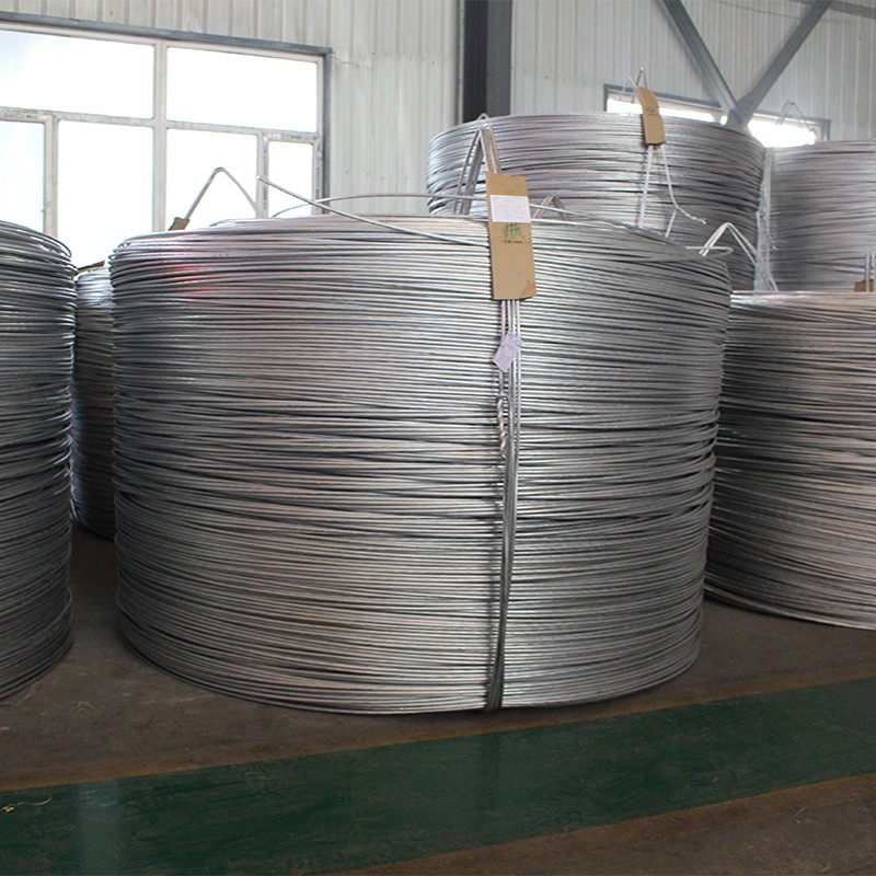 Aluminum  rod for electrical coil