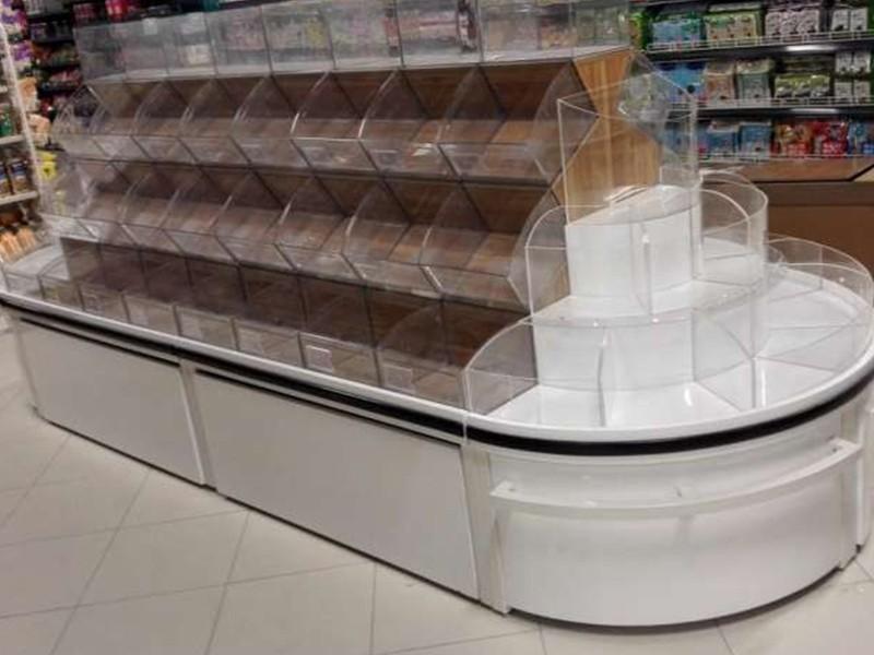 大型超市零食展柜
