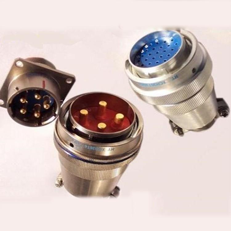 XC系列特种军用圆形航空插头、电连接器、接插件