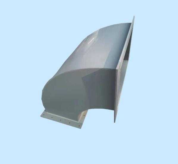 PPH矩形风管弯头