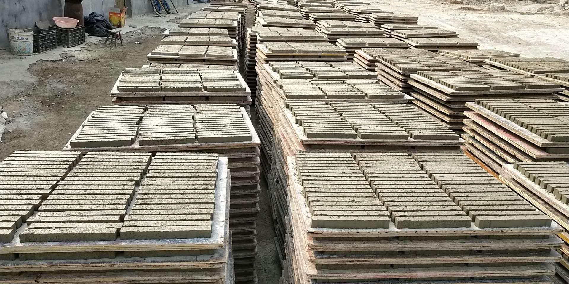 条形水泥垫块生产质量