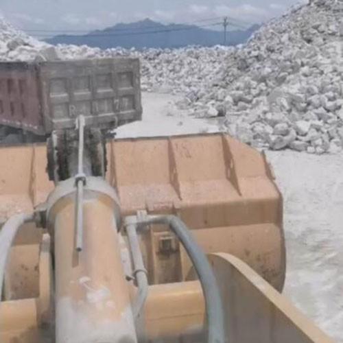 碳酸钙矿场开采