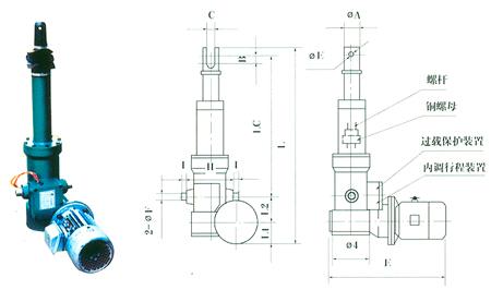 DTW型电动推杆