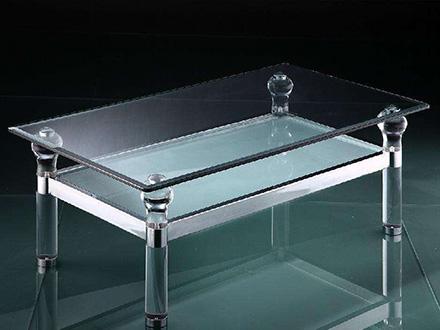 有机玻璃四角桌定制