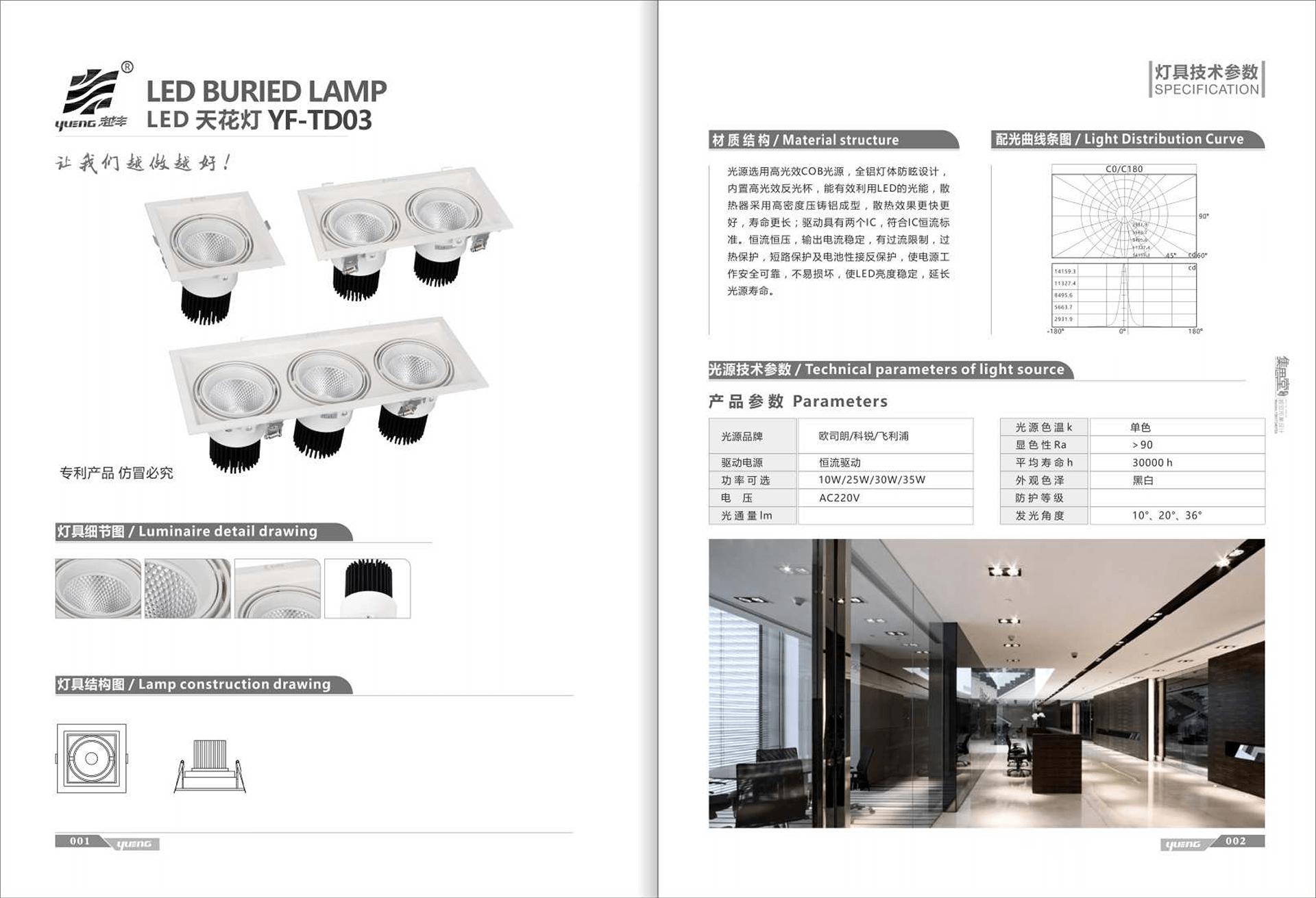 方、黑白天花燈-1頭.jpg