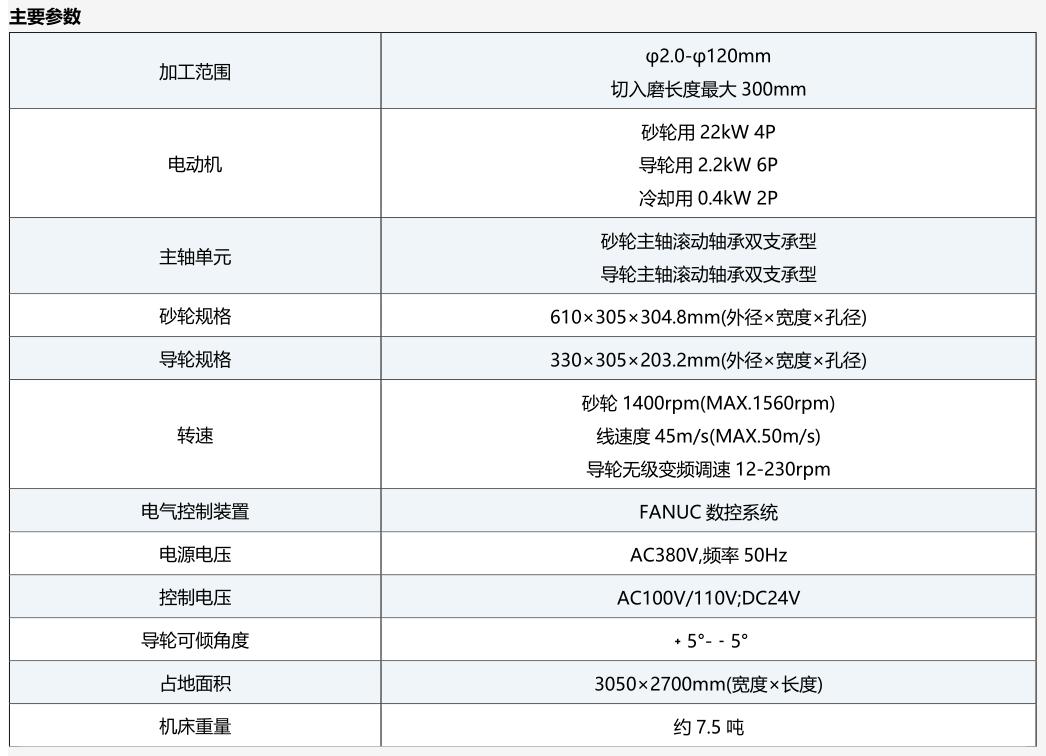 光洋KC系列无心磨床KC300