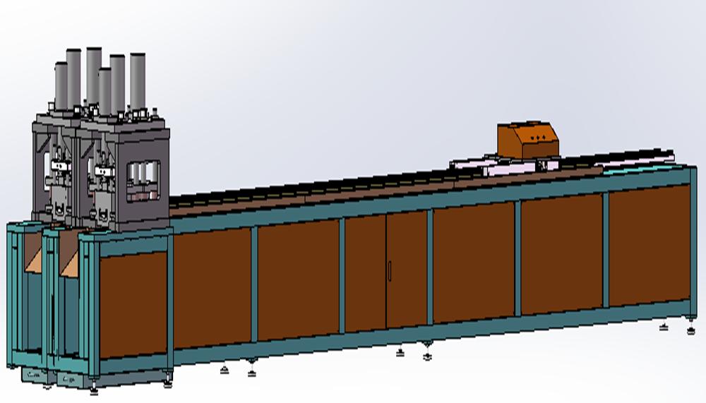 边封板自动送料冲孔机