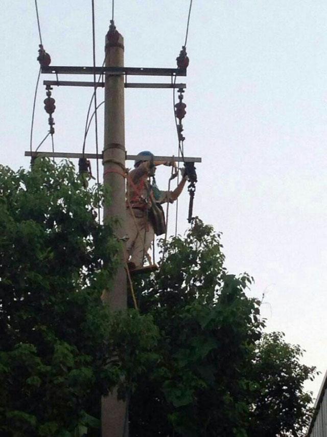 高空电力安装