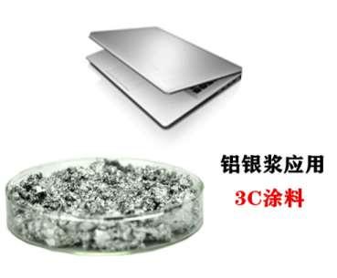 非浮型铝银浆的制备方法与流程
