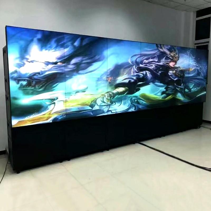 安装LCD拼接屏