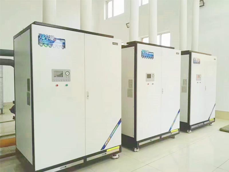 3台200千瓦燃气模块炉
