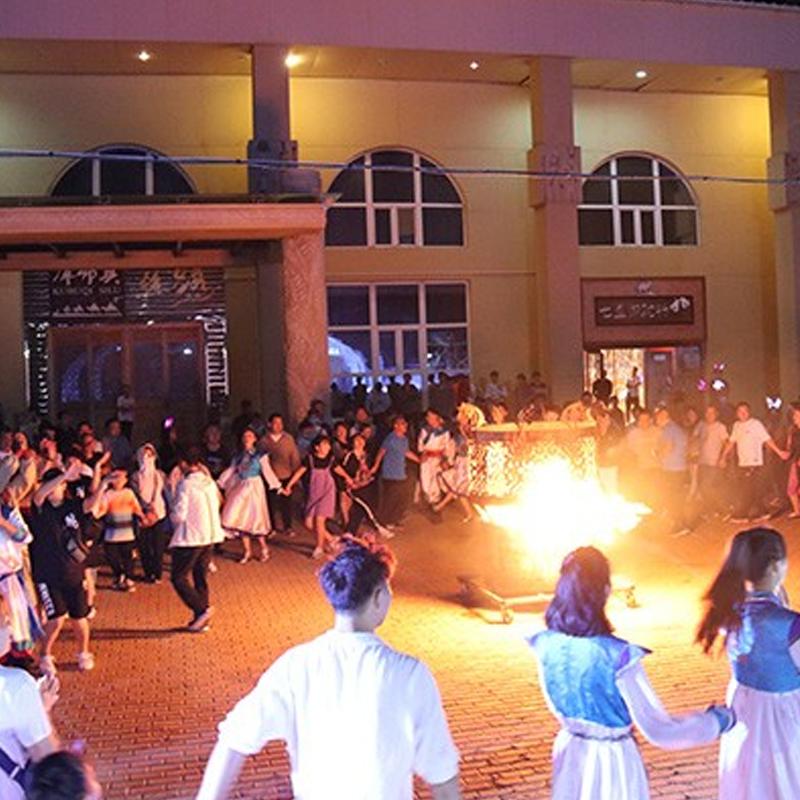 大漠篝火晚会