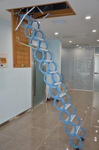 碳钢伸缩楼梯