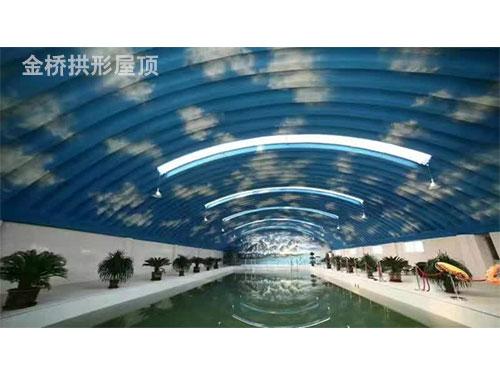 新疆东方希望的游泳馆