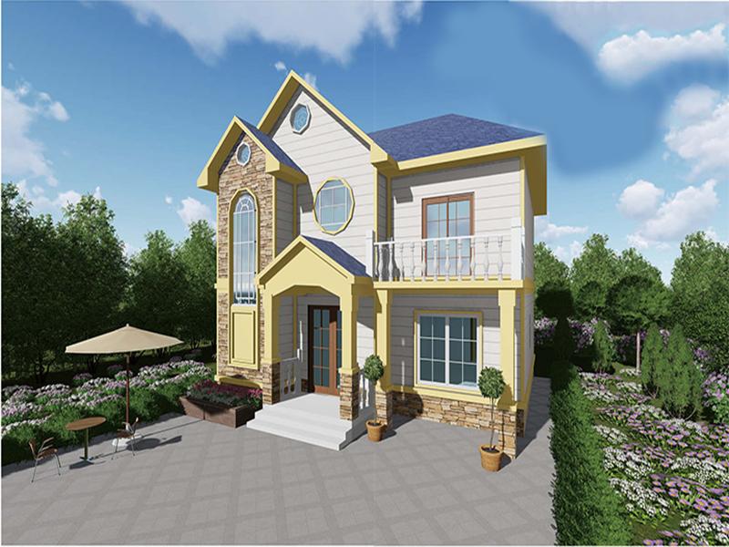 在四川的农村建造一个轻钢别墅有哪些好处?