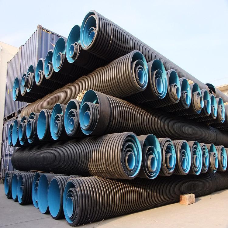 许多的储存罐也会去采用缠绕结构壁形管