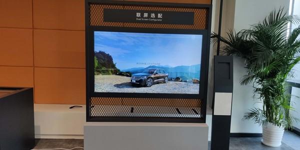呼市企业展厅液晶拼接屏