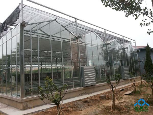 安阳工学院玻璃温室