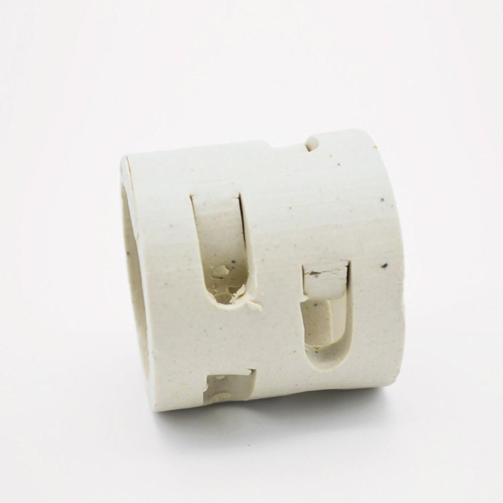 陶瓷鲍尔环-高强度耐酸碱鲍尔环填料
