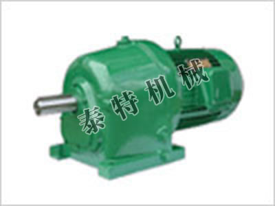 CJ减速机的特点与使用范围