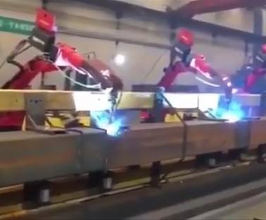 焊接生产线