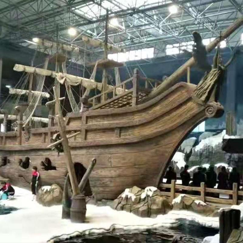 木船景观雕塑