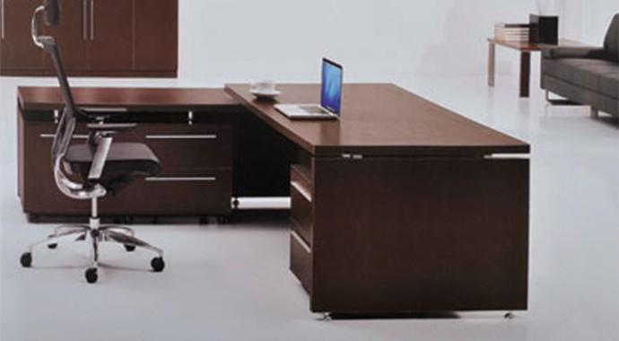 桌椅组合时尚油漆班台