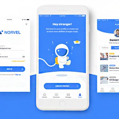 Norvel Mobile 交互设计