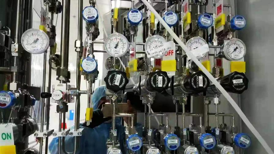 实验室供气管道联接规定