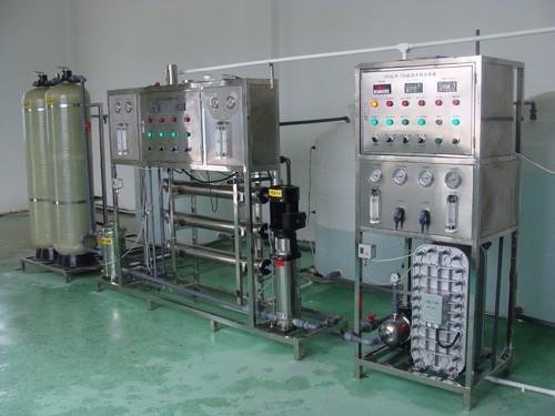 超纯水设备(纯水设备+EDI)