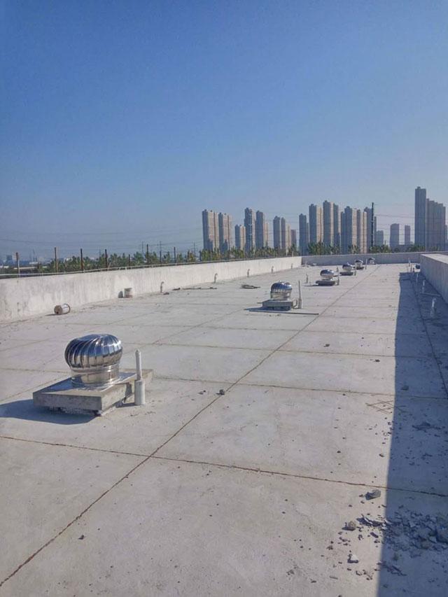 屋顶无动力排风机