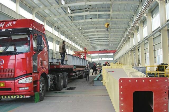 浙江某公司钢材运输
