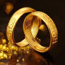 黄金首饰戒指