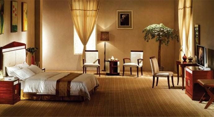 酒店浮华床品家具