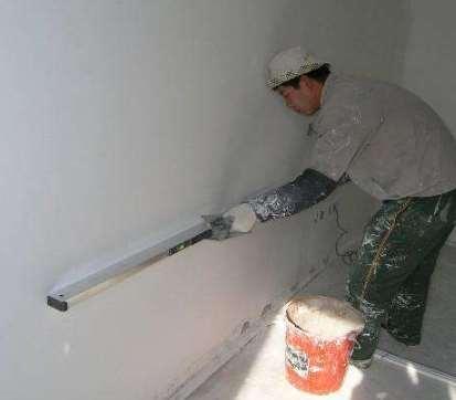 粉刷石膏抹灰施工工艺标准