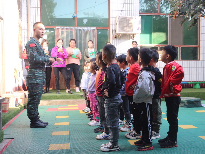 幼儿军警体验课