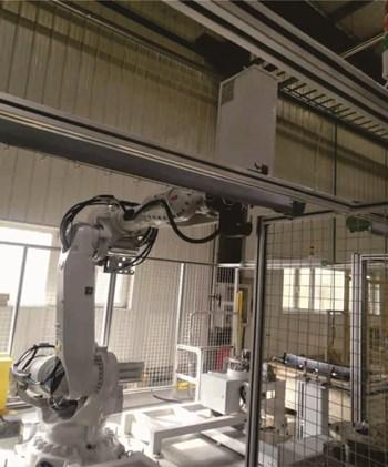 机器人铆接项目