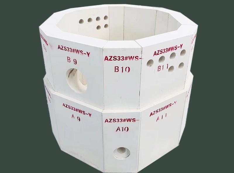电熔AZS砖实验炉