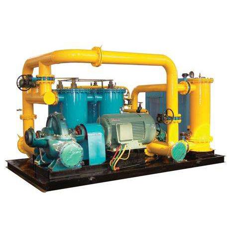 油系统大流量冲洗装置
