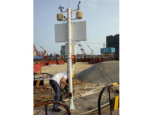 在线扬尘监测设备安装