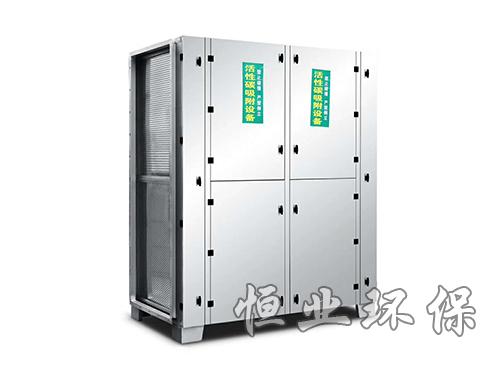 活性炭净化柜用在塑料机生产车间如何?