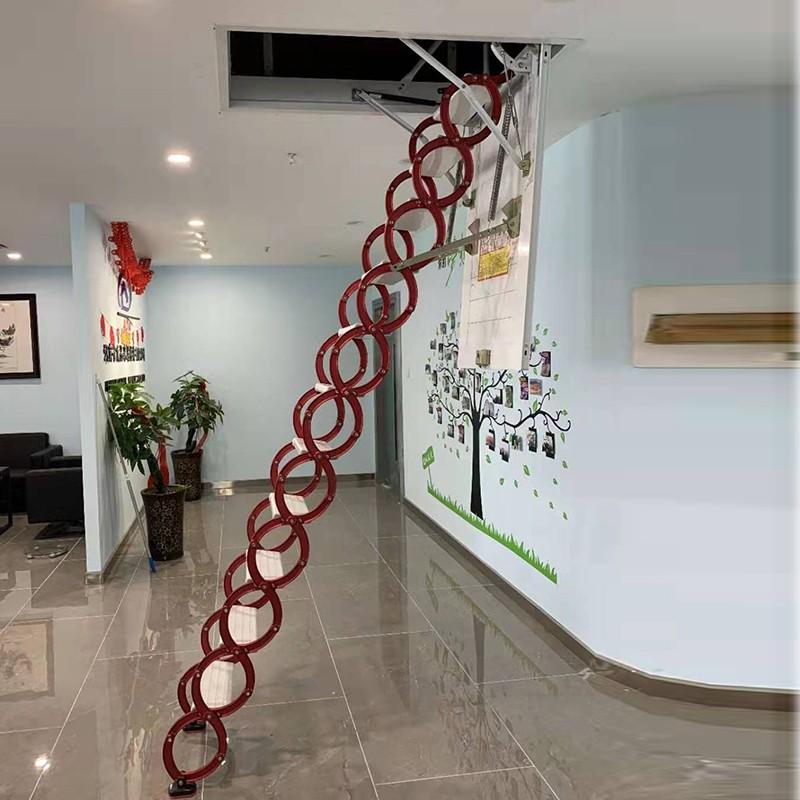 甄合金伸缩阁楼梯
