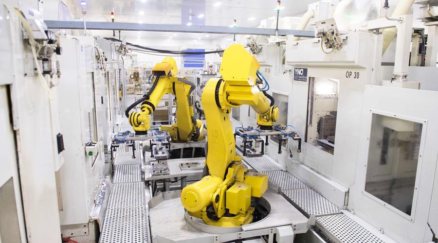 上下料机器人市场发展及日常保养注意事项