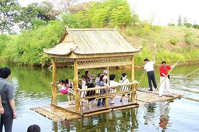 安徽竹筏设计