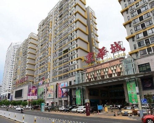 海南吊篮租赁工程二:海南京华城