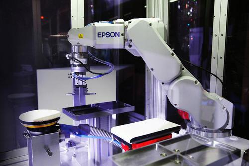 工业自动化与EPSON机器人