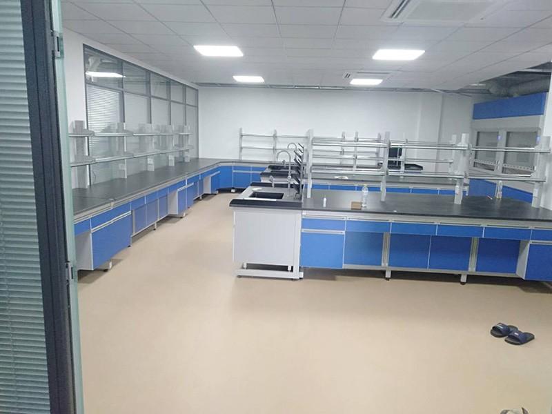 钢木实验台-蓝白