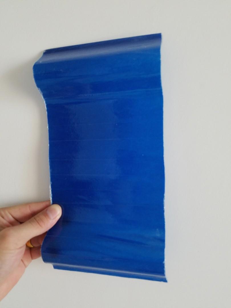 蓝色采光瓦